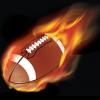 football-flames